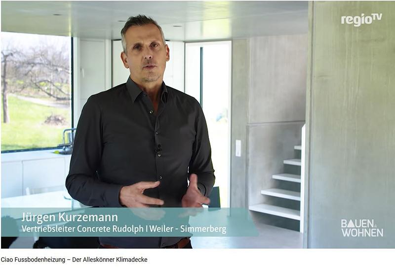 Regio TV – Bauen &amp; Wohnen:<br /> Alleskönner Klimadecke