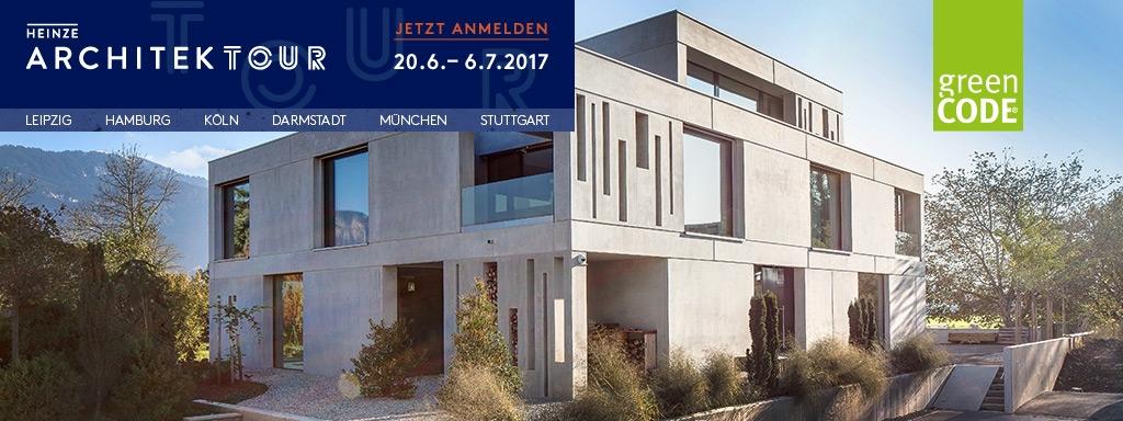 Heinze ArchitekTour 2017: Daily Business – Architektur zwischen Alltag und Spektakel