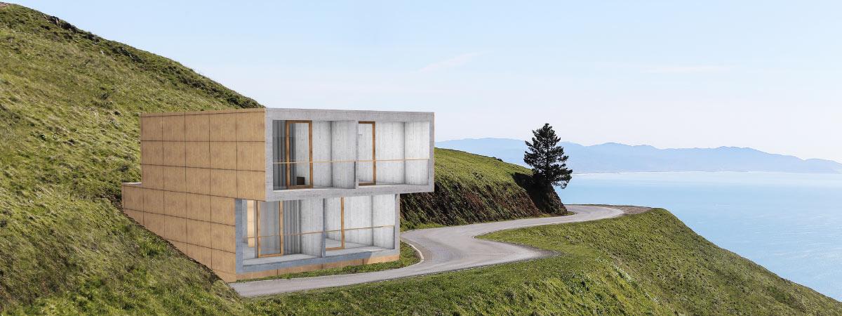 Mobile cube kleinverbund concrete rudolph for Mobiles ferienhaus