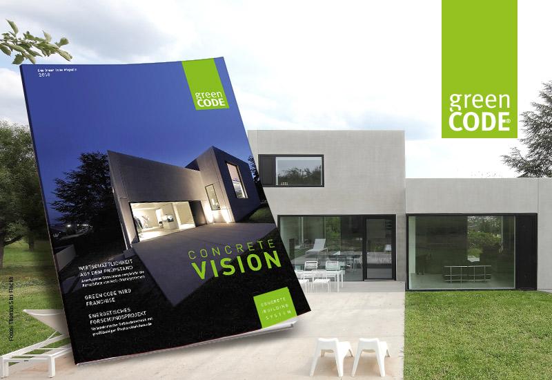 Concrete Vision 2018<br /> Die Vision nimmt Gestalt an.